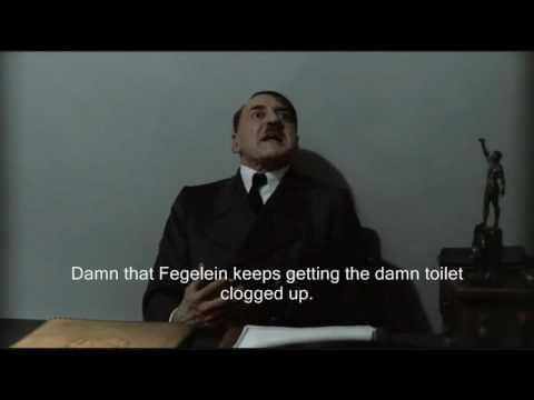 Hitler is informed the toilet is clogged