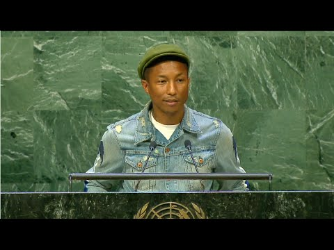 International Day of Happiness with Pharrell