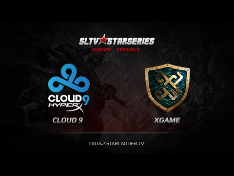 Cloud9 -vs- xGame.kz, SLTV Europe Season X, Day 12, Game 2
