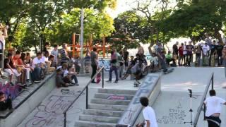 Stash & Emerica - Demo & Best trick @ Galit skatepark