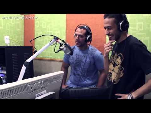 Arab League All Stars - Arabian Knightz and MC Amin - Interview on Mega FM
