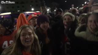 Clemson beates alabama in National Championship Game