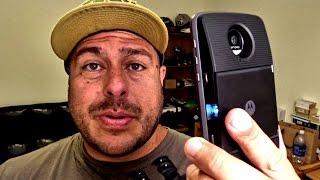 Pagarias $300 bolas por el proyector del Moto Z y Moto Z force?
