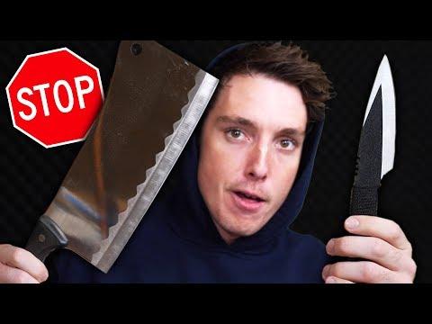 pls stop sending me knives