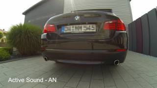 Active Sound System - hier am 5er BMW F10 535d - made by insidePerformance