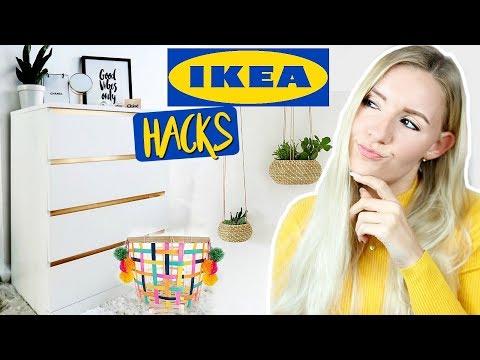 Psst...Diese IKEA HACKS musst du kennen! Geniale Organisation & günstige DIY  Deko Ideen!