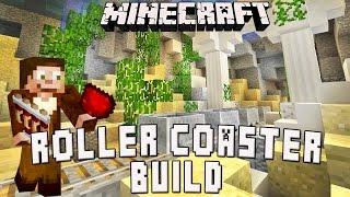 Minecraft: Underwater Roller Coaster Sunken City Scene    (Scarland Coaster Build Ep.36)