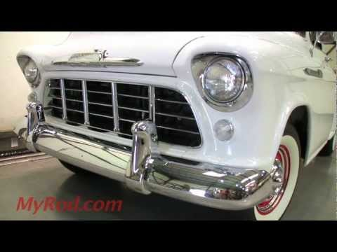 1956 Chevy Truck Deluxe Cab - MyRod.com Music Videos