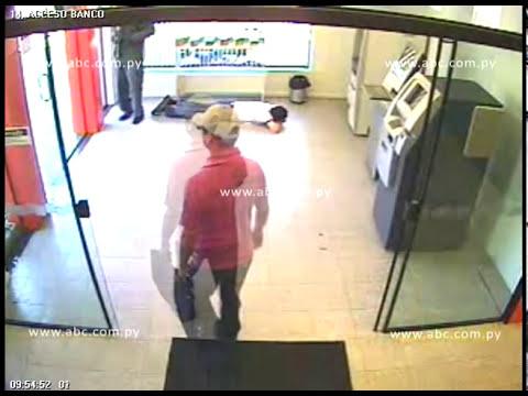 Asalto a banco Itaú en Asunción