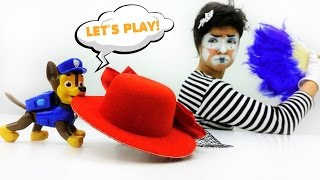 Best funny videos & kids toy videos 🤡 Funny clown play with Paw patrol toys from Paw patrol cartoon