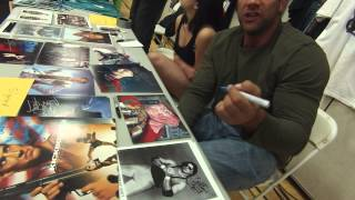 Meeting Sasha Mitchell For The First Time At PWS 10/31/14