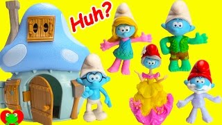 Brainy Saves Smurfs The Lost Village Wrongs Heads with Magical House