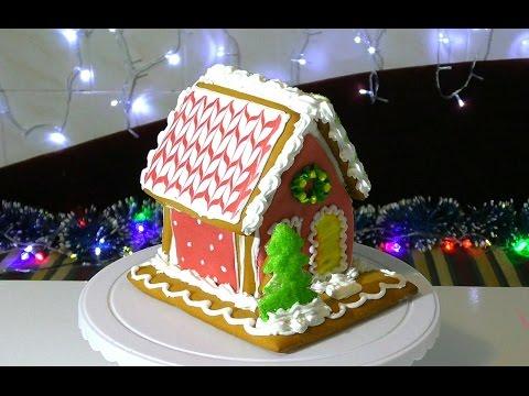 Пряничный домик Как сделать пряничный домик своими руками  Gingerbread house