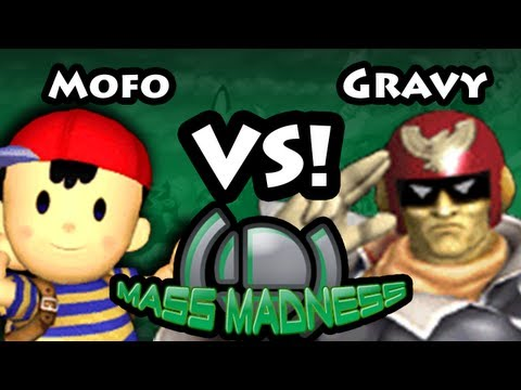 Mass Madness CE - Mofo (Ness) Vs  Gravy (Captain Falcon) SSBM Pools - Super Smash Bros, Melee