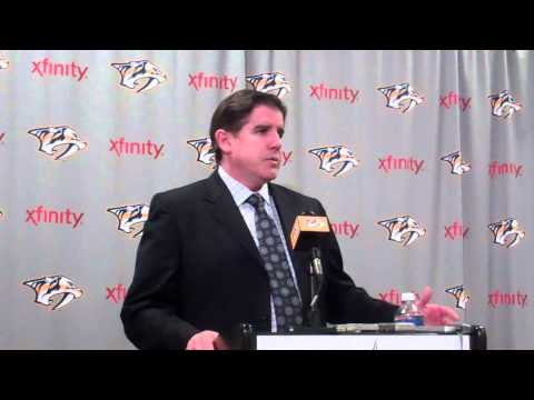 Peter Laviolette - Post Game - Nashville Predators vs Colorado Avalanche