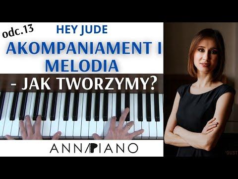 Nauka Gry Na Pianinie, Odc.13  Akompaniament I Melodia  I Anna Piano