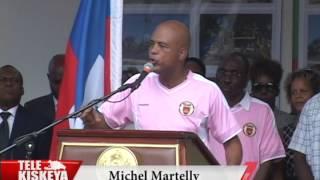 VIDEO: Haiti - President Martelly denonse Manifestation yo ke Opposition an ap fè