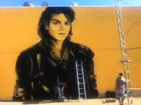 Final Portrait Brush Strokes By Levi Ponce On Michael Jackson ...