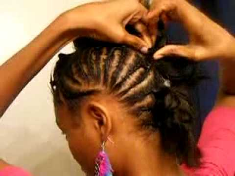 New Natural Style **Braided Mohawk**