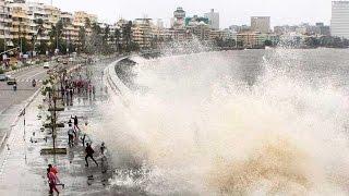Marine drive Hightide | Mumbai Rains | HD| Mumbai |