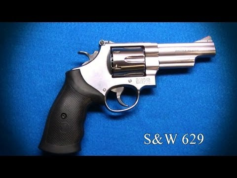 Gun Porn Smith & Wesson 629 4.2 Inch Stainless 44 Magnum video