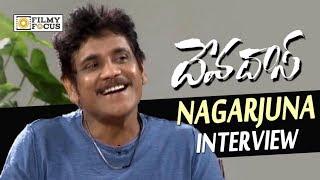Nagarjuna Funny Interview about Devadas Movie || Nani, Rashmika, Akanksha Singh