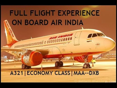 FULL FLIGHT REVIEW on Air India | Airbus A321 from Chennai to Dubai