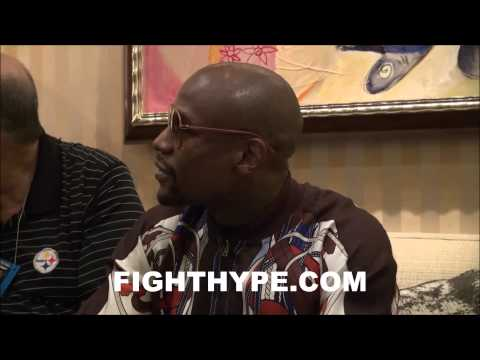 FLOYD MAYWEATHER SAYS HE WANTS TO BUY THE LA CLIPPERS; COMMENTS ON DONALD STERLING