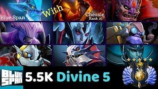 DIVINE 5 LESH (chessie) LION VOID VENG TINK CLOK SLRK PA