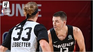 Atlanta Hawks vs San Antonio Spurs - Full Game Highlights | July 12, 2019 NBA Summer League