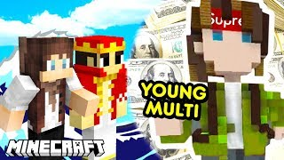 YOUNG MULTI w MINECRAFT - BUILD BATTLE