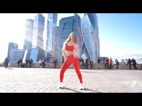 ТАНЕЦ возле MOSCOW CITY (Sean Paul & Major Lazer  Tip Pon It)