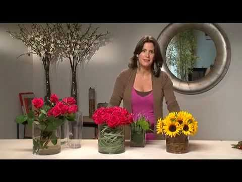 Flower Arranging with Roses  Modern & Stylish   Iris rosin