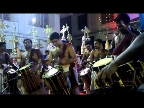 Triple Thayambaka - St.Mary's Forane Church, Kanjoor - 20-01-2015