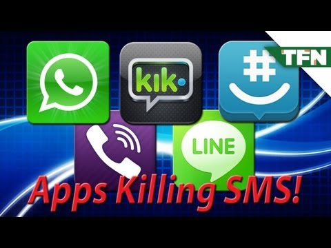 Are Messaging Apps Killing SMS?