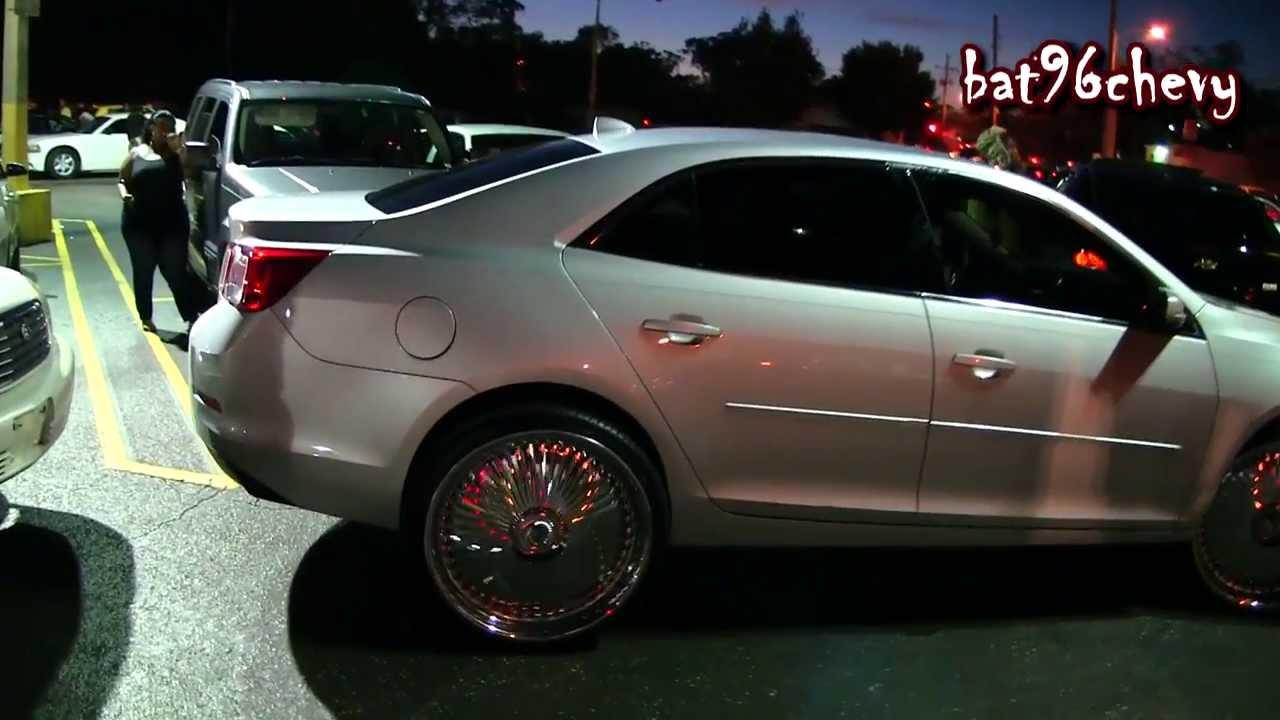 2013 Chevy Malibu On 24 Quot Dub Bellagios Amp 2010 Impala On 26