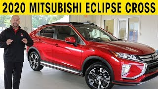2020 Mitsubishi Eclipse Cross Exterior & Interior Walkaround