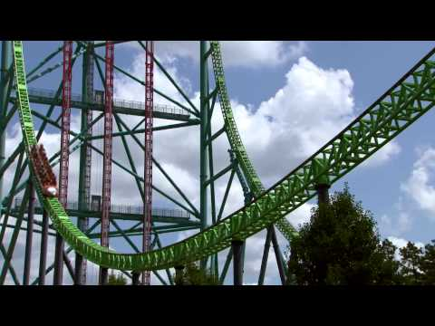 Official Kingda Ka On-Ride Video with Front Seat POV at Six Flags Great Adventure