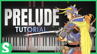 "How to play ""PRELUDE"" from Final Fantasy 