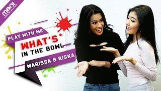 HOT GAMES! YANG KALAH MUSTI DI BUKA!!! MARISA VS RISKA WHAT'S IN THE BOWL!