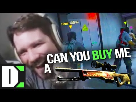【CS:GO】Yellow, can you buy me a Dragon Lore?