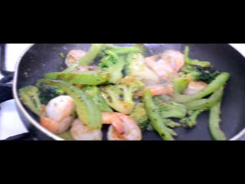 Spicy Shrimp-and-Broccoli Stir-Fry |