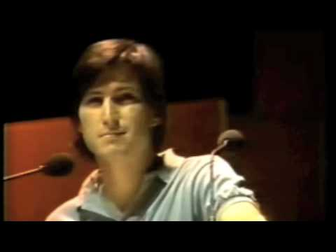 Young Vibrant Steve Jobs | 1983 Apple Keynote