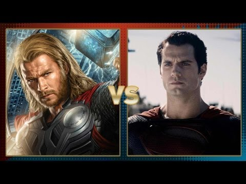 Thor vs. Superman: Fanboy Faceoff 2013 Superhero Showdown Final Round!