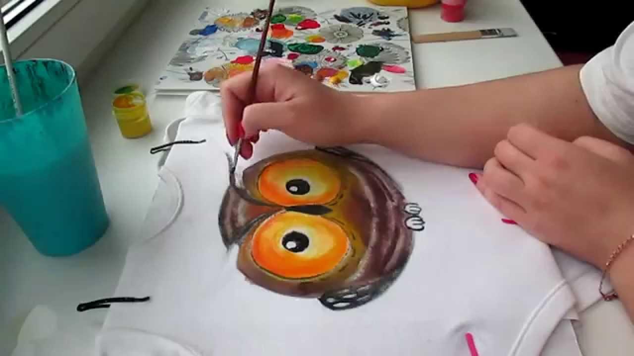 Как научиться рисовать на тканях