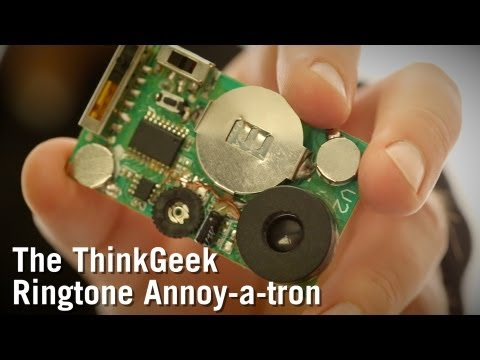 The ThinkGeek Ringtone Annoy-a-tron from ThinkGeek