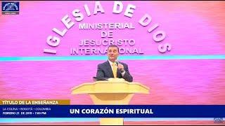 Enseñanza: Un corazón espiritual - Iglesia de Dios Ministerial de Jesucristo Internacional