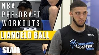 LiAngelo Ball Got Bounce!? Shows Off 37 Inch Vert for NBA Scouts!