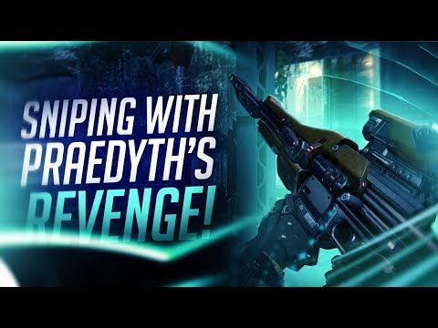 Destiny: My First Destiny Sniper | Sniping With Praedyth's Revenge!