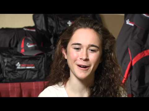 Molly Seidel before Foot Locker Championships 2011